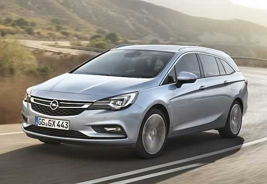 Opel Astra Test